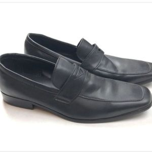 Perry Ellis Portfolio Mens 12 Black Dress Shoes